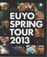 Brochure / Broschüre European Union Youth Orchestra Spring Tour 2013 - Conductor Vladimir Ashkenazy - Boeken, Tijdschriften, Stripverhalen