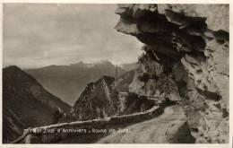 66162 -  Suisse    Val D'Anniviers      Route De Zinal - VS Valais