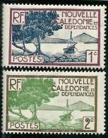Nouvelle Calédonie - Y Et T  N° 139 Et 140 * Trace Charnière TB - Nouvelle-Calédonie