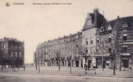 BELGIQUE  CV Charleroi Bd Jacques Bertrand Et Le Cirque + Pub Amidon Au Verso - Charleroi
