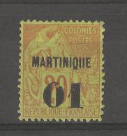 Martinique _ Colonies N° 6_  (1888