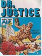"DOCTEUR JUSTICE  N° 6  "" LA PLONGEE DANS LE TEMPS "" -  OLLIVIER / MARCELLO -  E.O. 1974 VAILLANT - Non Classificati"