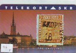 Timbres Sur Télécarte STAMPS On Phonecard Postzegel Op Telefoonkaart (46F] - Timbres & Monnaies