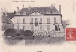 CPA 58 POIL ,Château De Villette. (1909) - Other Municipalities