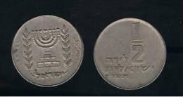 ISRAEL -  1/2 Lira  KM36 - Israel