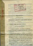 """Brevet D'invention  """"Distributeur De Cigarettes Ou Autres Articles Similaires"""" 1931 - Documents"""