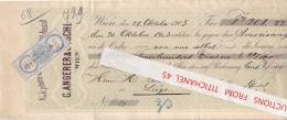 Prima-Wechsel 1903 - WIEN - C. ANGERER & GÖSCHL - Photochemigraphen - Hofkunstanstalt - Austria