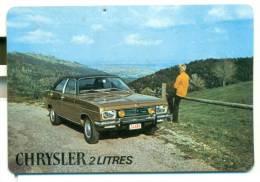 Kalender Klein Formaat 1975 - Chrysler 2 Litres - Calendriers