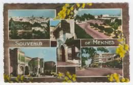 Meknès        Souvenir         Multivues - Meknès