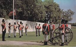 Cannon, Horse Guards, Lower Fort Garry National Historic Site, Fort Garry, Manitoba, Canada, 40-60´s - Manitoba