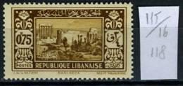 1930/35 - LIBANO - LEBANON - Scott Nr. 118  - Mi. 169 - LH  - (S21042013.....) - Liban