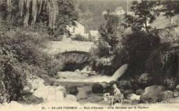 AX-LES-THERMES-Pont D'Auradu-Villa Delcasse Sur La Hauteur - Ax Les Thermes