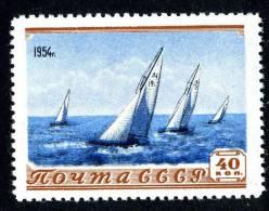 (e2565)   Russia  1954  Sc.1710  Mnh**  Mi.1714  (2,00 Euros) - Unused Stamps