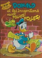 "DONALD  "" ET LES INVENTIONS FOLLES ! FOLLES ! FOLLES !  "" -  WALT DISNEY -  E.O.  MAI 1983  EDI-MONDE - Donald Duck"