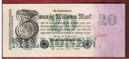 ALEMANIA - GERMANY -  20.000.000 Mark 1923 SC-    P-97 - [ 3] 1918-1933 : República De Weimar