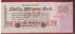 ALEMANIA - GERMANY -  50.000.000 Mark 1923 SC-    P-98 - [ 3] 1918-1933 : República De Weimar