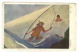 Art Card  Poland By Artist Z. Stryjenska,  Lato-Ete , 00-10s - Polonia
