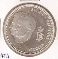 MONEDA DE PLATA DE BELGICA DE 250 FRANCOS DEL AÑO 1996  (COIN) SILVER-ARGENT - 1993-...: Alberto II