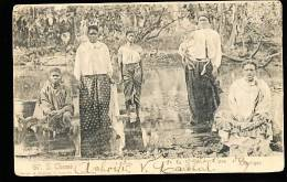 SAO TOME ET PRINCIPE SAO TOME / Raparigas / - Sao Tome And Principe