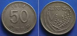 KOREA SOUTH 50 Won 1984 - FAO - Korea, South