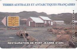 """TAAF - Restauration De Port Jeanne D"""" Arc(with Logo), Tirage 300, 07/04, Used - TAAF - French Southern And Antarctic Lands"""