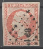 Napoléon III  N° 16 Avec Oblitération Losange Lettres BP1°   TTB - 1853-1860 Napoléon III
