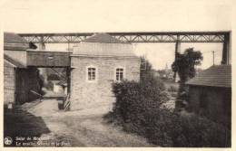 BELGIQUE - LIEGE - PLOMBIERE - MORESNET - Salut De Moresnet - Le Moulin Schyns Et Le Pont. - Plombières
