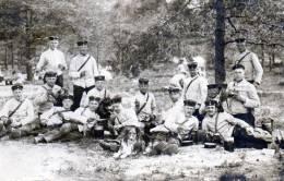 Photo De Groupe Allemande à La Soupe - 1914-18