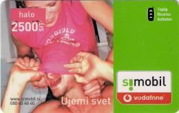 Slovenia Mobile GSM Recharge 2007. Vodafone - Slovenia