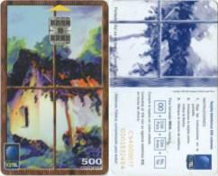 Telefonkarte Costa Rica - Kunst - Costa Rica