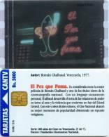 Telefonkarte Venezuela - Movie - El Pez Que Fuma - Venezuela