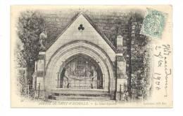 Cp, 76, Saint-Wandrille, L'Abbaye, Le Saint- Sépulcre, Voyagée 1906 - Saint-Wandrille-Rançon