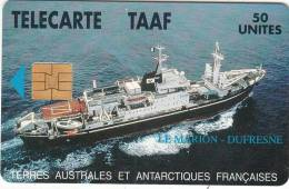 TAAF - Le Marion Dufresne, Tirage 1500, 03/95, Used - TAAF - French Southern And Antarctic Lands