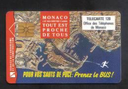 MONACO - RARE  CHIP PHONECARD - Monace