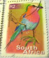 South Africa 2000 Bird Lilacbreasted Roller 2r - Used - Afrique Du Sud (1961-...)