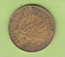 Pièce - Cameroun - Etat De L´Afrique Equatoriale - 10 Francs - 1972 - Camerún