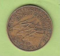 Pièce - Cameroun - Etat De L´Afrique Equatoriale - 10 Francs - 1969 - Cameroon