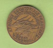 Pièce - Cameroun - Etat De L´Afrique Equatoriale - 10 Francs - 1958 - Cameroon