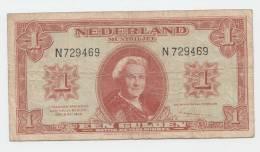 """Netherlands 1 Gulden 1945 """"F"""" P 70 - [2] 1815-… : Kingdom Of The Netherlands"""