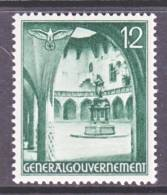 Germany Occupation Poland N 60  * - Occupation 1938-45