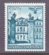 Germany Occupation Poland N 72  * - Occupation 1938-45