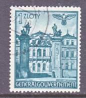 Germany Occupation Poland N 72  (o) - Occupation 1938-45