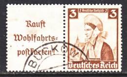 Germany W 102  (o) - Se-Tenant