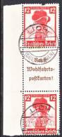 Germany S 242  Fault  (o) - Se-Tenant