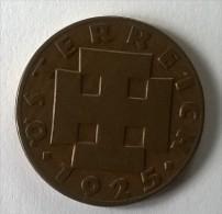 Monnaie - Autriche - 2 Groschen 1925 - - Autriche
