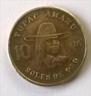 10 Soles De Oro 1980 - PEROU - Tupac Amara - - Pérou
