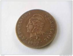 100 Francs 1982 - Polynésie Française - TTB - - French Polynesia