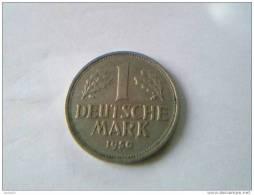 1 Mark 1950 F - Rép. Féd. D'Allemagne - - [ 7] 1949-… : FRG - Fed. Rep. Germany