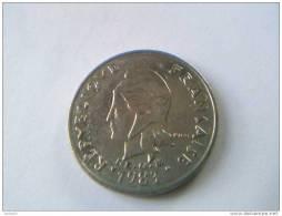 POLYNESIE FRANCAISE - 20 Francs 1983 - Nickel - TTB - - French Polynesia