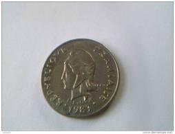POLYNESIE FRANCAISE - 10 Francs 1983 - Nickel - - Polynésie Française